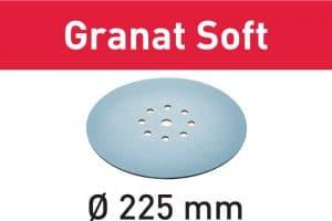 Disco de lijar Granat Soft STF D225 P180 GR S/25