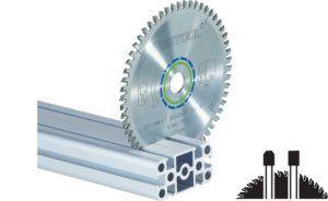 Hoja de sierra ALUMINIUM/PLASTICS HW 190×2,6 FF TF58