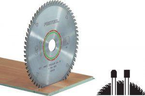 Hoja de sierra LAMINATE/HPL HW 190×2,6 FF TF54