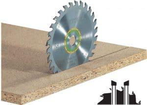 Hoja de sierra universal 210×2,4×30 W36
