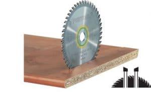 Hoja de sierra de diente fino 210×2,4×30 W52
