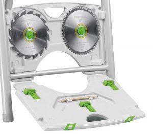 Compartimento para las hojas de sierra SGA