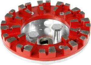 Cabezal de herramienta DIA ABRASIVE-RG 150