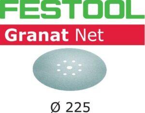Abrasivo de malla Granat Net STF D225 P220 GR NET/25