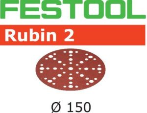 Disco de lijar Rubin 2 STF D150/48 P60 RU2/10