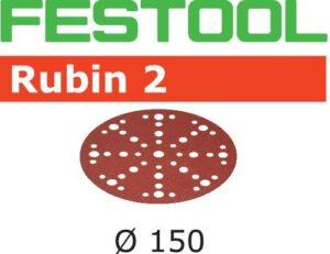 Disco de lijar Rubin 2 STF D150/48 P120 RU2/10