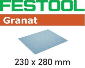Abrasivo Granat 230×280 P100 GR/50