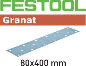 Hoja de lijar Granat STF 80×400 P80 GR/50