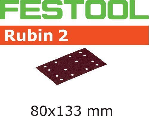 Hoja de lijar STF 80X133 P80 RU2/10