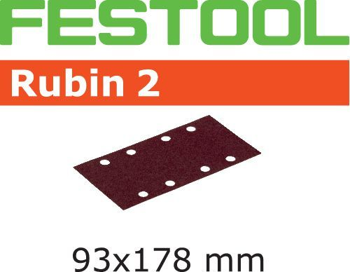 Hoja de lijar STF 93X178/8 P80 RU2/50