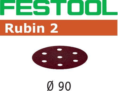 Disco de lijar STF D90/6 P120 RU2/50