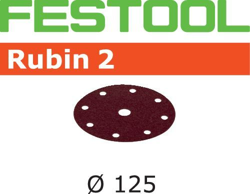 Disco de lijar STF D125/8 P150 RU2/50