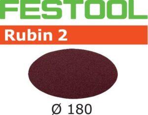 Disco de lijar Rubin 2 STF D180/0 P80 RU2/50