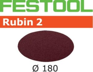 Disco de lijar Rubin 2 STF D180/0 P120 RU2/50