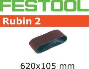 Banda de lijar Rubin 2 L620X105-P80 RU2/10
