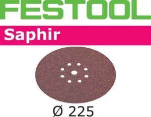 Disco de lijar Saphir STF D225/8 P24 SA/25
