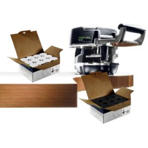 Aplacadora de cantos KA 65 Set CONTURO + 2 cajas de adhesivos EVA
