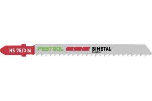 Hoja de calar PLASTICS SOLID MATERIAL HS 75/3 BI/5