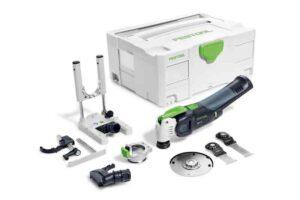 Oscilante a batería VECTURO OSC 18 Li E-Basic Set