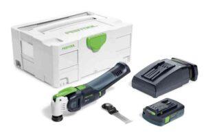 Oscilante a batería VECTURO OSC 18 Li 3,1 E-Compact