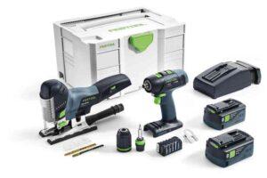 Set de montaje a batería T 18+3/PSC 420 Li I-Set