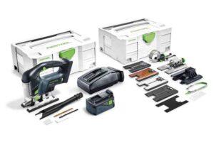 Caladora de péndulo a batería CARVEX PSBC 420 Li 5,2 EBI-Set