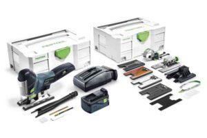 Caladora de péndulo a batería CARVEX PSC 420 Li 5,2 EBI-Set