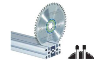 Hoja de sierra ALUMINIUM/PLASTICS HW 254×2,4×30 TF80 A