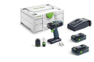 Taladro atornillador a batería T 18+3 HPC 4,0 I-Plus