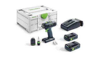 Taladro atornillador a batería T 18+3 C 3,1-Plus