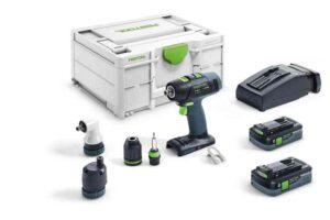 Taladro atornillador a batería T 18+3 HPC 4,0 I-Set