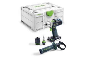 Taladro atornillador a batería QUADRIVE DRC 18/4-Basic