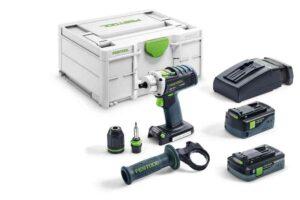 Taladro atornillador a batería QUADRIVE DRC 18/4 5,2/4,0 I-Plus