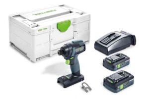 Atornillador de impacto a batería TID 18 HPC 4,0 I-Plus