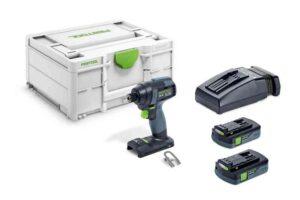 Atornillador de impacto a batería TID 18 C 3,1-Plus