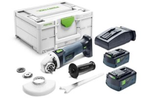 Amoladora angular a batería AGC 18-125 5,2 EB-Plus