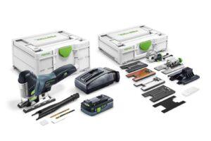 Caladora de péndulo a batería CARVEX PSC 420 HPC 4,0 EBI-Set