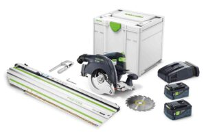 Sierra circular a batería HKC 55 5,2 EBI-Set-FSK 420