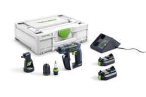 Taladro atornillador a batería CXS 2,6-Set
