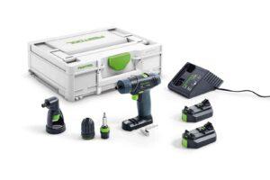 Taladro atornillador a batería TXS 2,6-Set